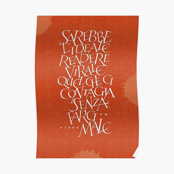 Chiara Riva + Er Pinto - Quarantena in 1400x1960 Pixel Poster