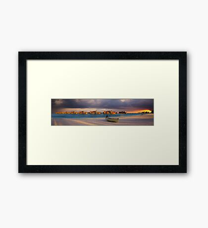 Storm Riders - Maldives Framed Print