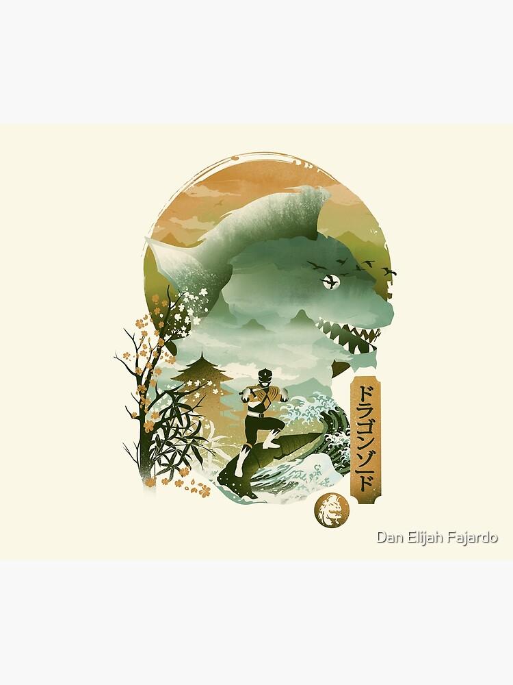 Dragonzord Ukiyo e by dandingeroz
