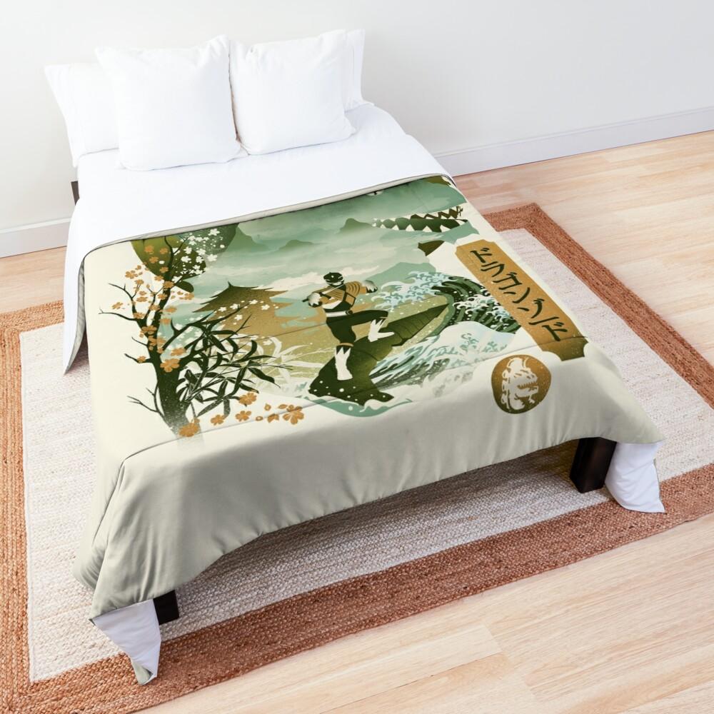 Dragonzord Ukiyo e Comforter