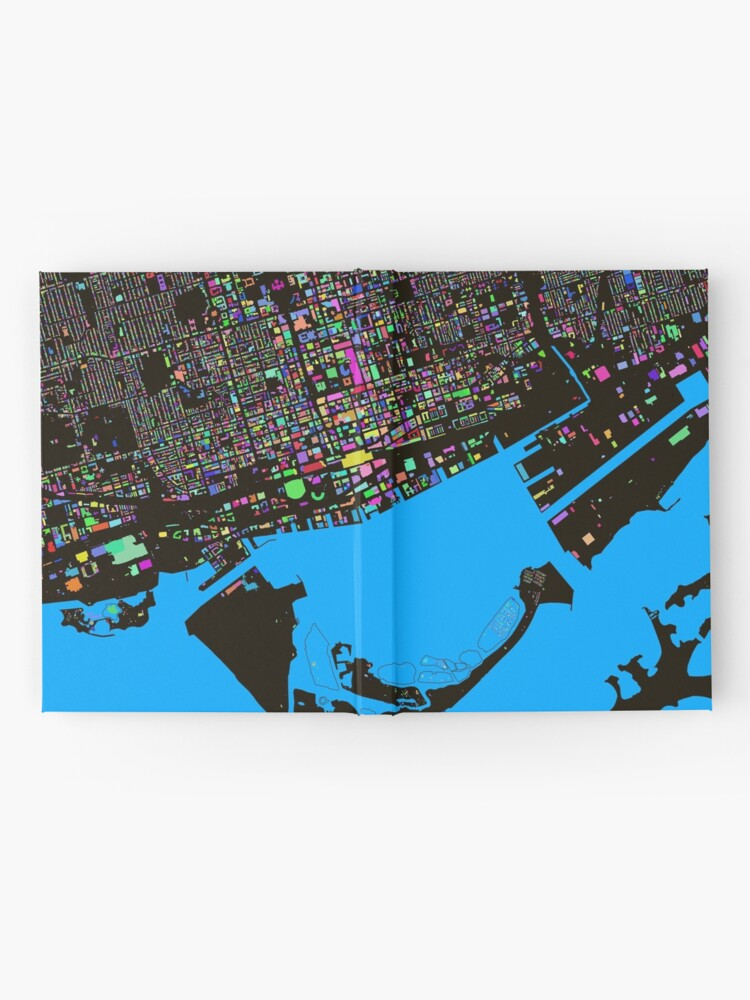 Alternate view of The Colours of Toronto Hardcover Journal