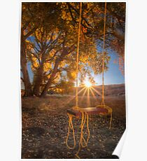 Sunset Swing Poster