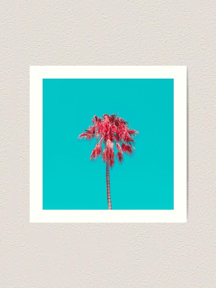 Alternate view of Palm Tree Art Print