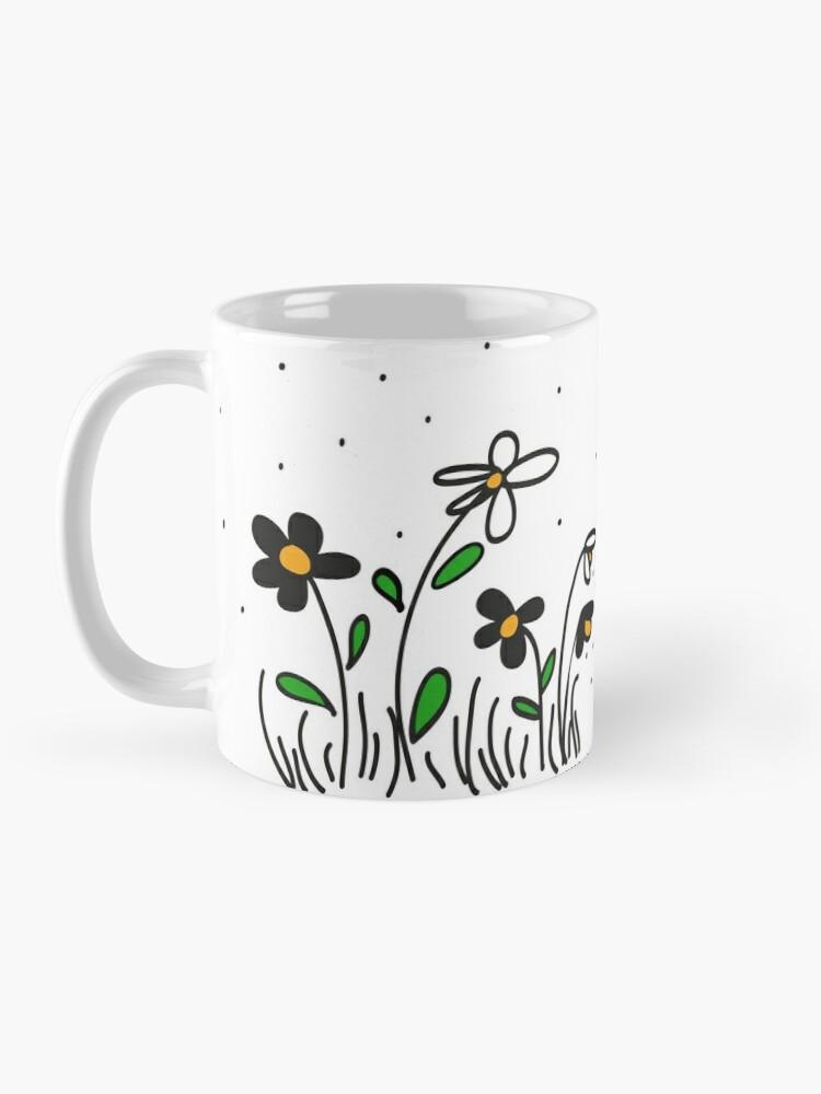 Alternate view of Daisy Doodles Mug