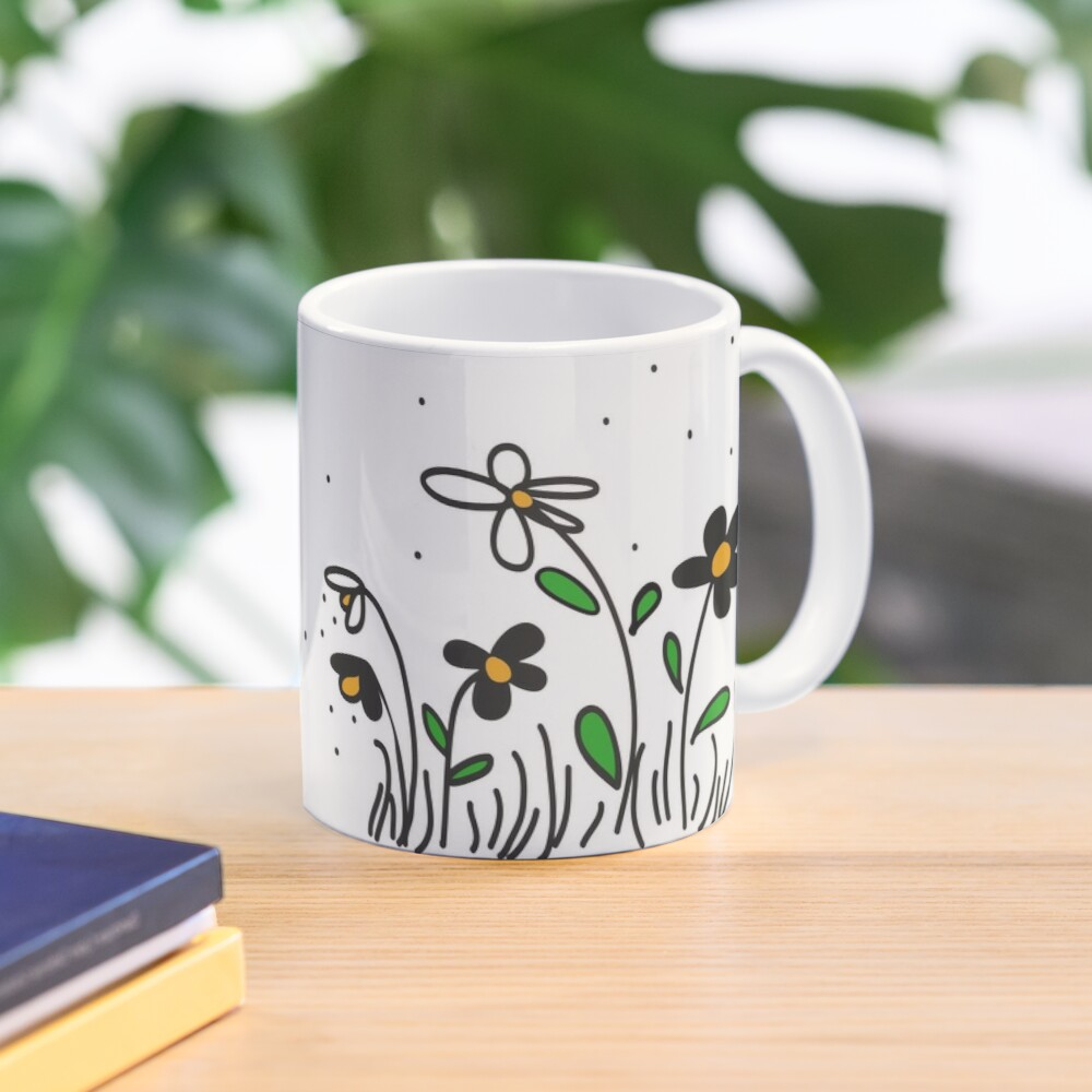 Daisy Doodles Mug