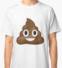Smiling Poop Emoji Classic T-Shirt