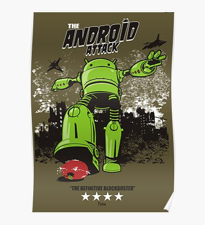 ANDROID ATTACK Poster