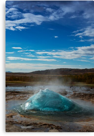Geysir Bubble by Andrew Dickman