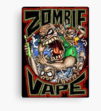 Zombie Vape Canvas Print