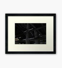 Underground Framed Print