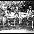 Cemetery Skeletons  by BlackTopaz