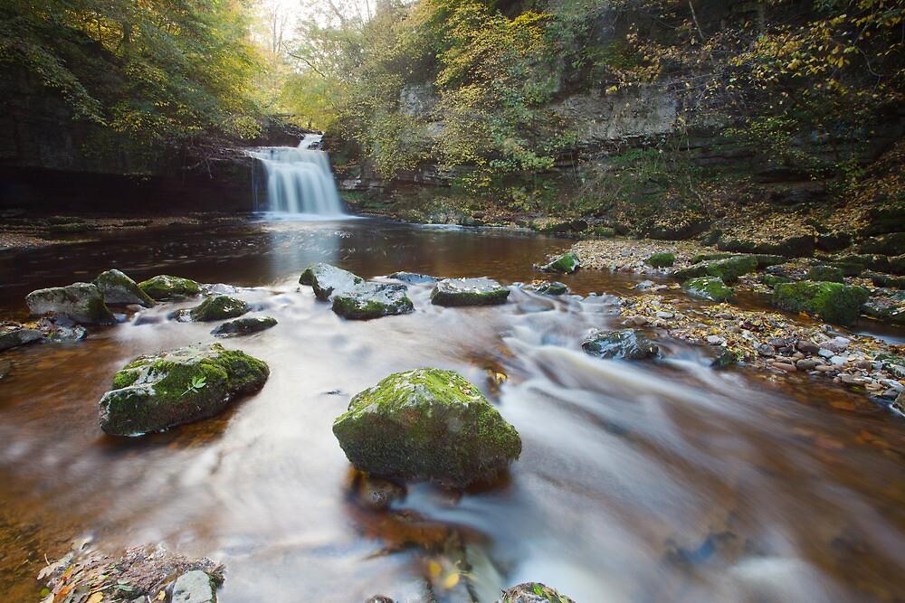 West Burton Falls by Nick Atkin