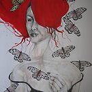 BUTTERFLY LADY by GittiArt
