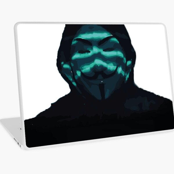 Anonymous Laptop Skin