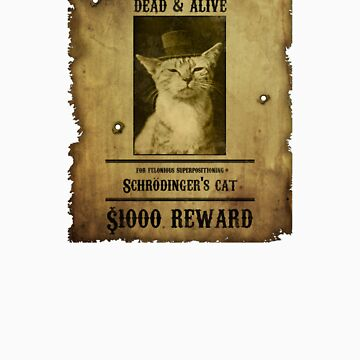 Schrodinger's Cat - Wanted by Artificialx