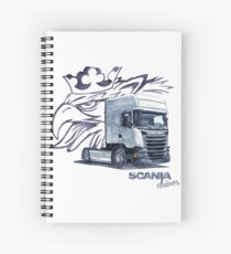 Scania Trucker Spiral Notebook
