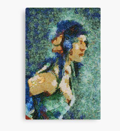 Blue Nila Canvas Print