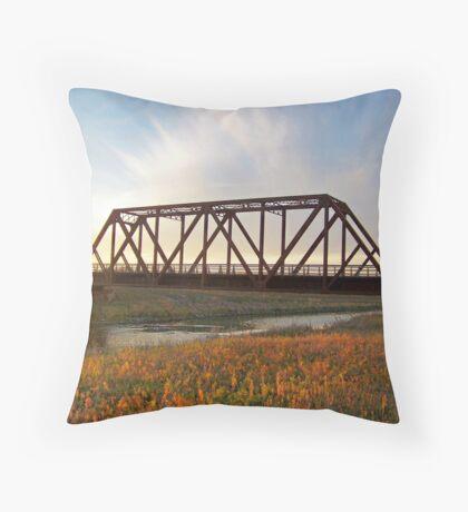 Auburn Afternoon Throw Pillow