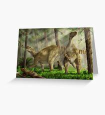 Iguanodon bernissarensis Greeting Card