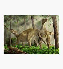 Iguanodon bernissarensis Photographic Print