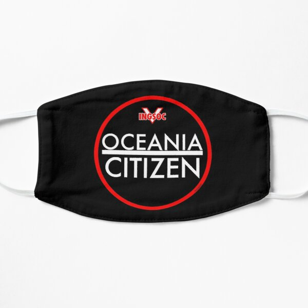 1984 BY GEORGE ORWELL: OCEANIA CITIZEN Mask