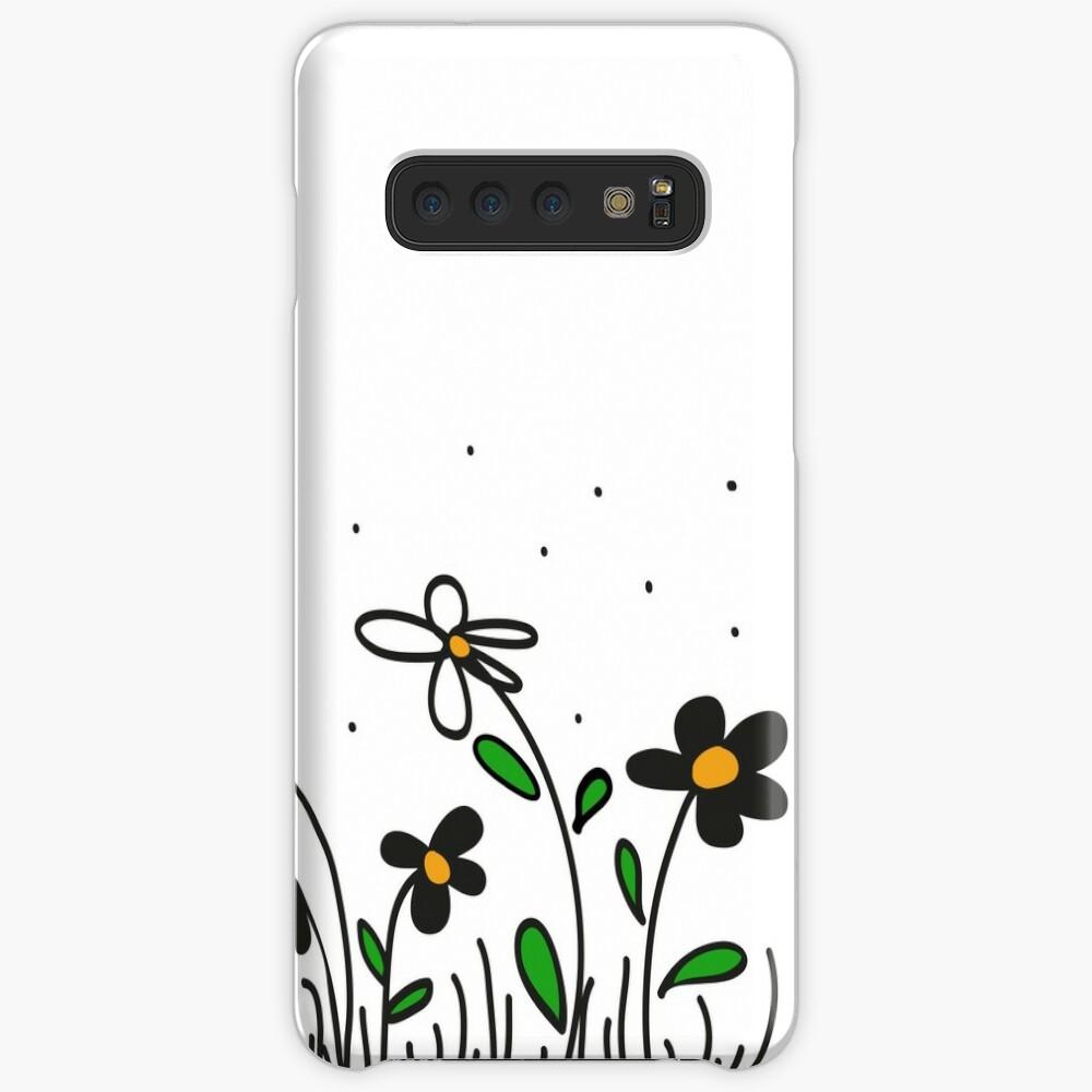Daisy Doodles Case & Skin for Samsung Galaxy