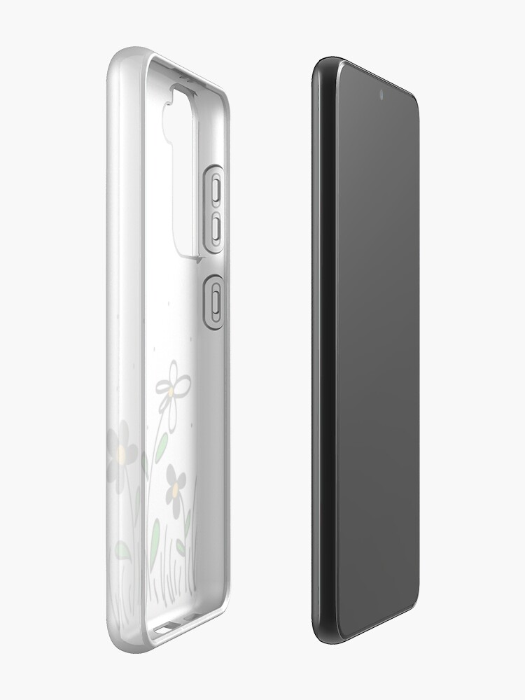 Alternate view of Daisy Doodles Case & Skin for Samsung Galaxy