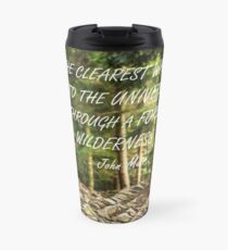Clearest way into the universe Travel Mug