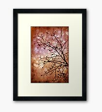 Burnished Framed Print