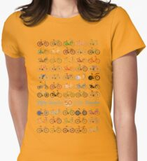 Fifty Bicycles Womens Fitted T-Shirt