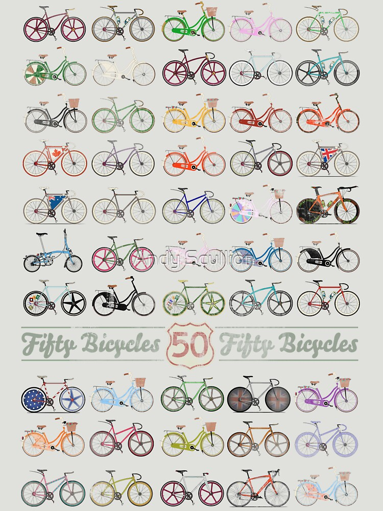 Fifty Bicycles | Unisex T-Shirt