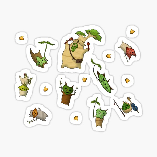 Flying Koroks Sticker