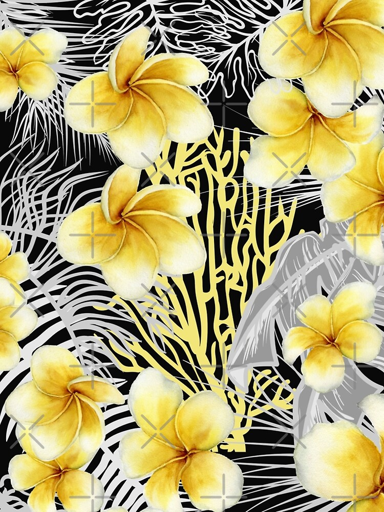 Hawaiian Frangipani a delightful watercolor design for those summer parties. Hope you can have fun with this. by JOHNC1