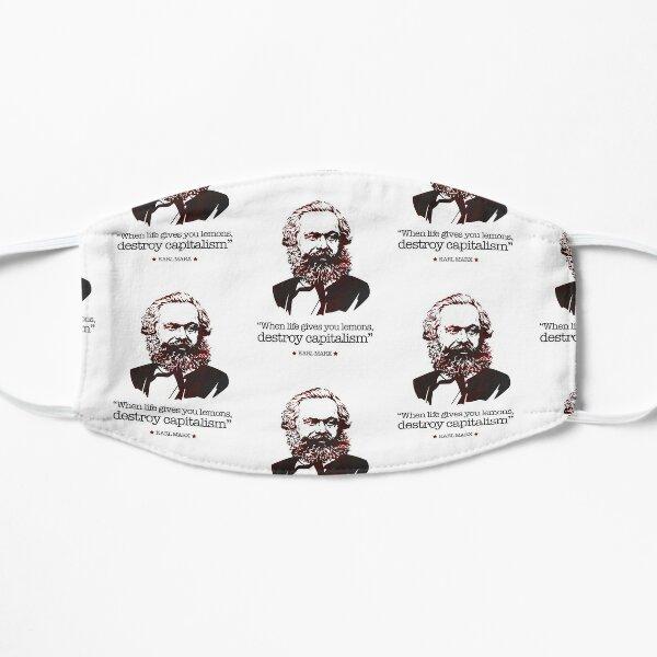Karl Marx | When life gives you lemons Mask