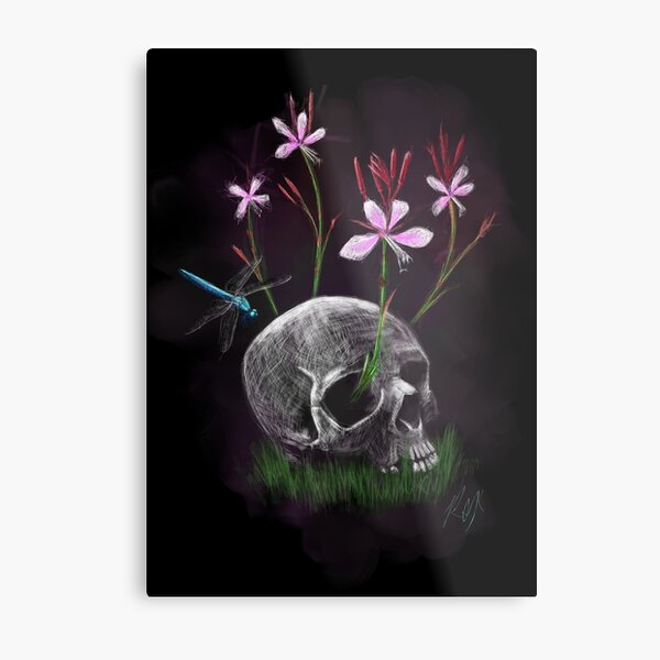 Death is Not the End Metal Print