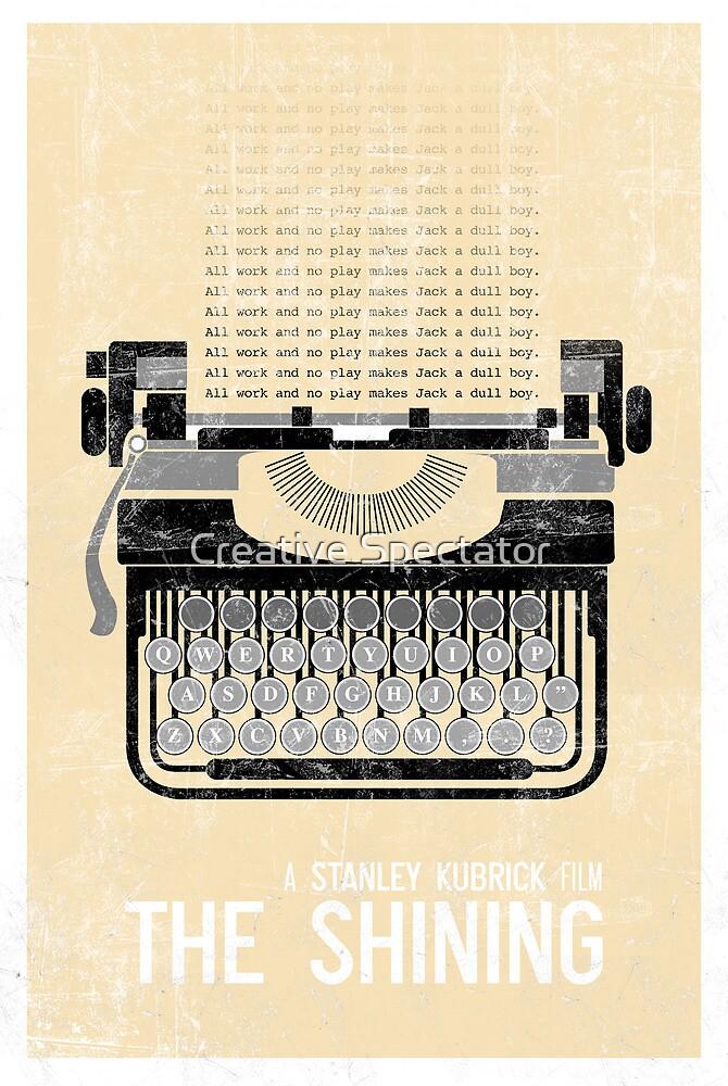 The Shining Minimalist Print  by Creative Spectator