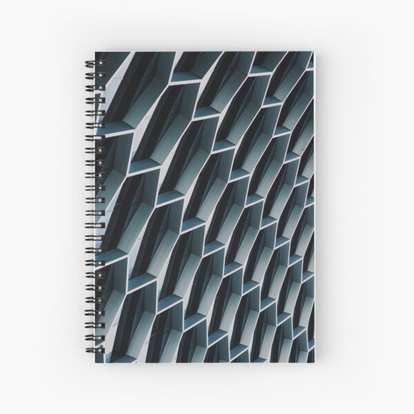 Low Angle Photo Of High Building Spiral Notebook