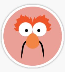 "Muppets ""Beaker"" Sticker"