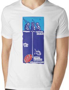 usa warriors eskimo by rogers bros Mens V-Neck T-Shirt