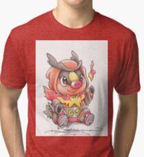 Tepig Pokemon Tri-blend T-Shirt