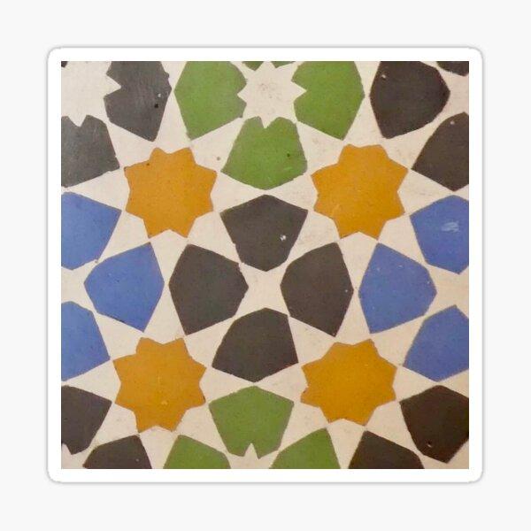 Moorish tile  Sticker