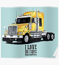 US TRUCK Poster