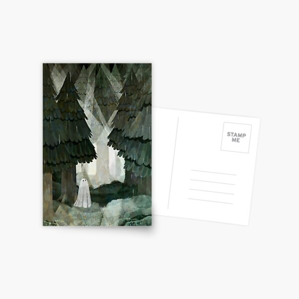 Pine Forest Clearing Postcard