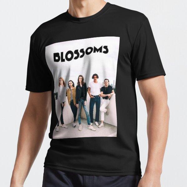 Blind Mellon Band Logo VINCEIE Mens Cool Long Sleeve Dress Shirt White