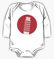 Pisa Tower One Piece - Long Sleeve