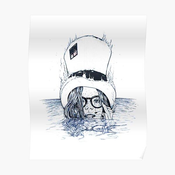 Chapeau Bleu Poster