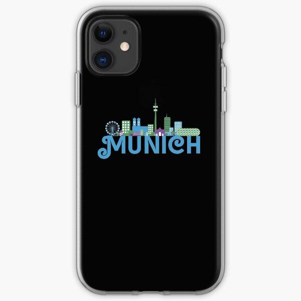 Skyline munich iPhone Soft Case