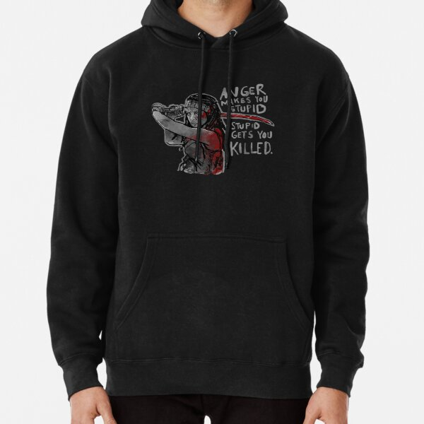 Stupid Gets You Killed Pullover Hoodie