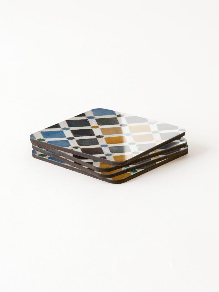 Alternate view of Moorish tile  Coasters (Set of 4)