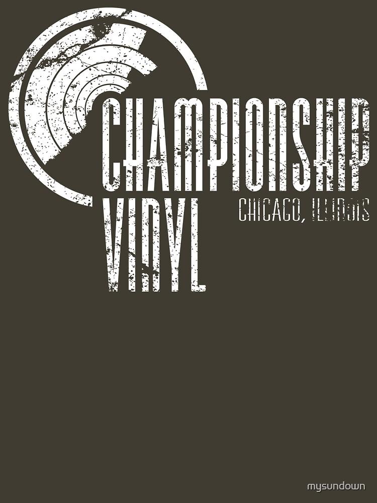 Championship Vinyl | Unisex T-Shirt